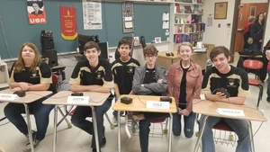 High School Scholar Bowl team competes in the Northwest Invitational