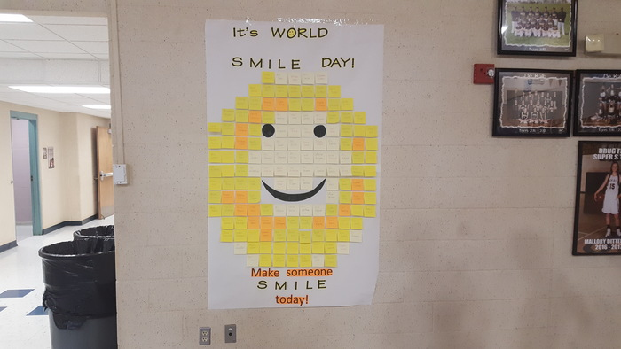 It's World Smile Day!