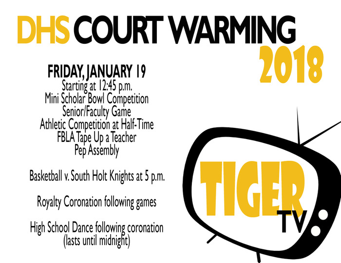 DHS Court Warming 2018 Events