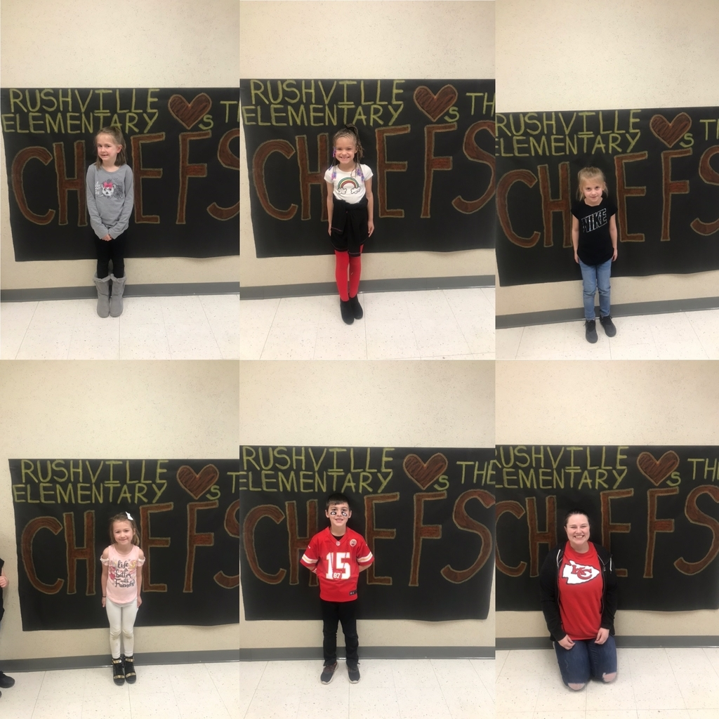 Kindergarten ready for the Super Bowl