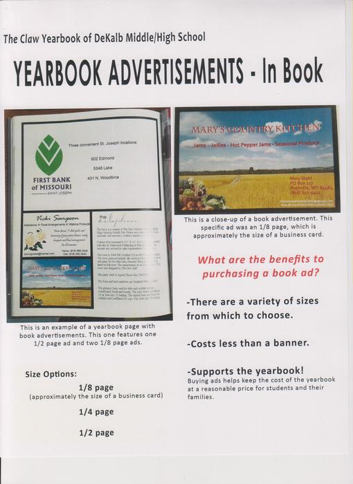 Yearbook Book Ads